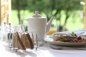 Breakfast at Acorn Farm B&B Pembrokeshire